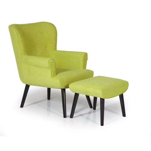 Ocassional Oban Green Occasional Chair